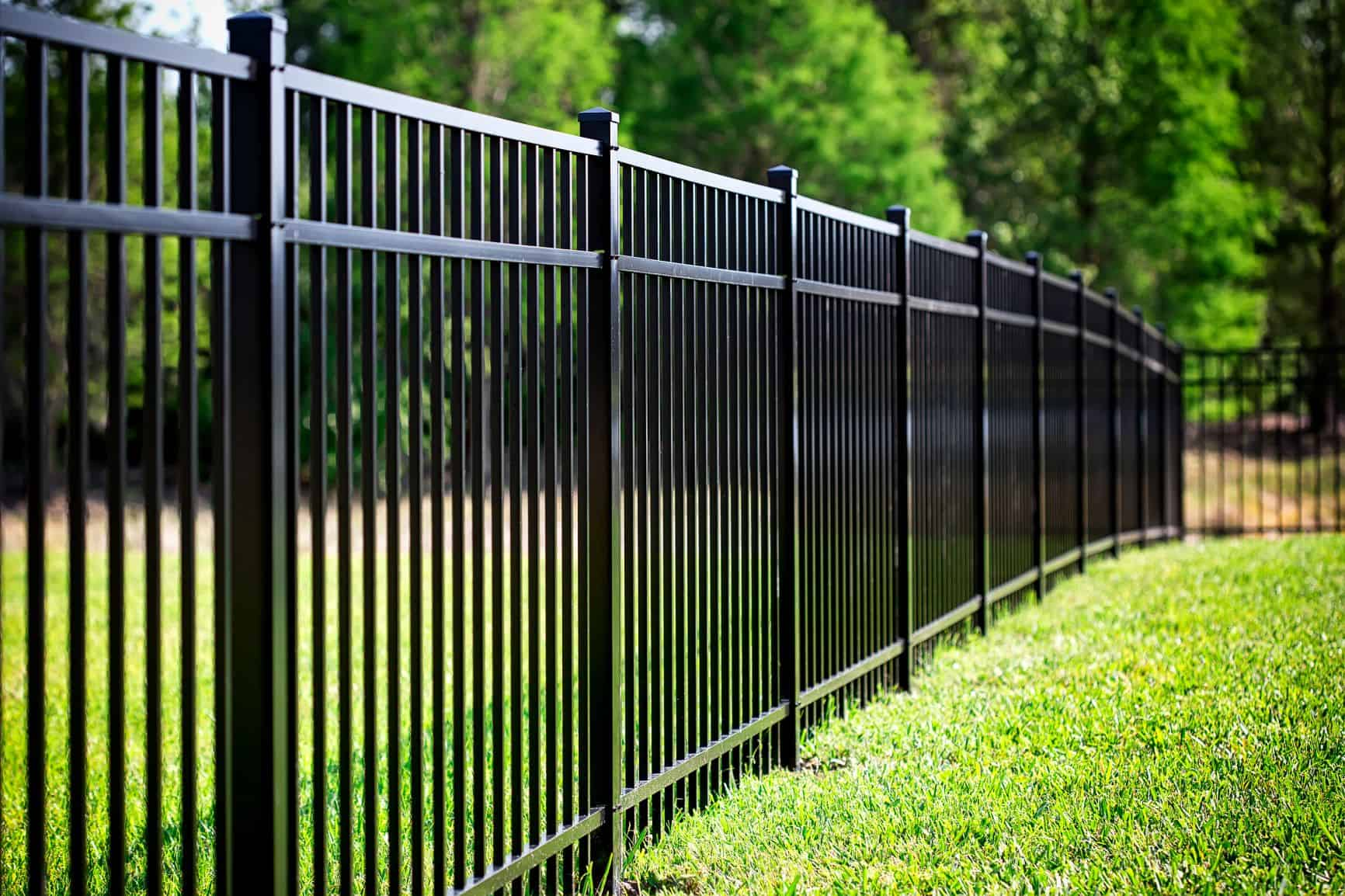 Aluminum fence Cape coral